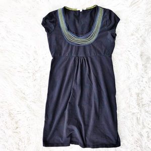 Boden jersey necklace dress